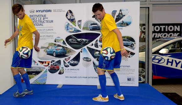spectacle de freestyle football